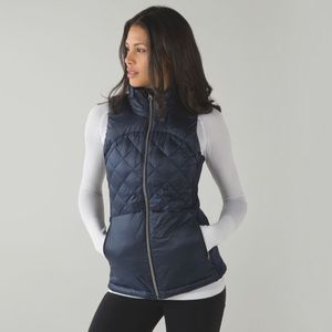 Lululemon Down For A Run Vest Blue First Release